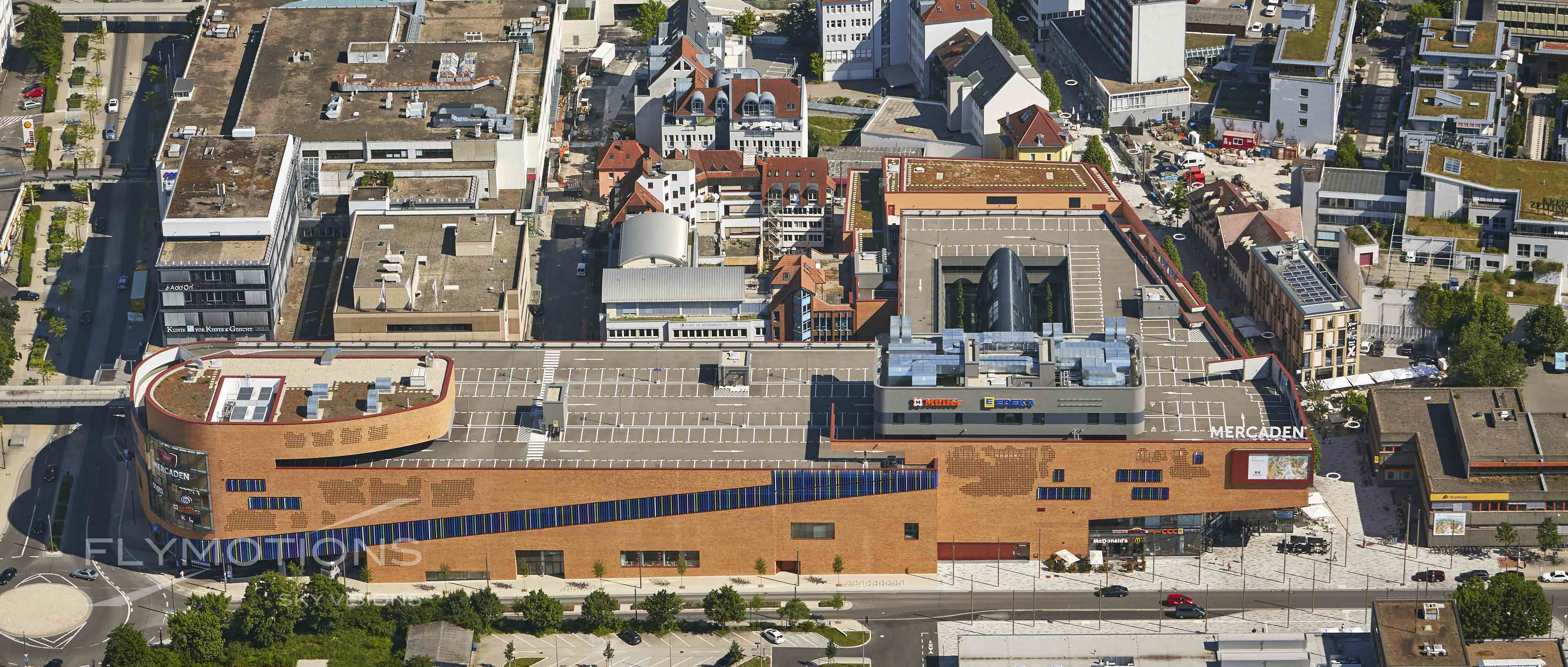 Mercaden /// Aerial shot /// Boeblingen - Böblingen