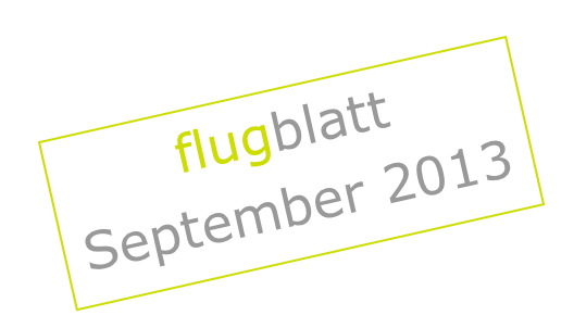 grafik FLUGblatt 2013