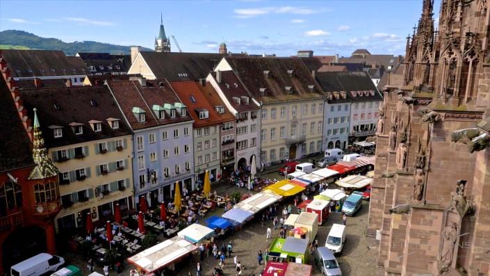 In the belly of Freiburg   Documentary about the foodmarket of Freiburg im Breisgau, Germany